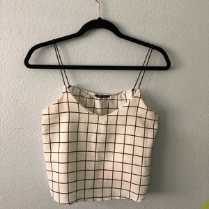 White Boxed Top